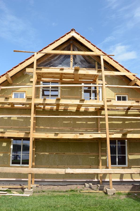 drewniany dom - amerykański