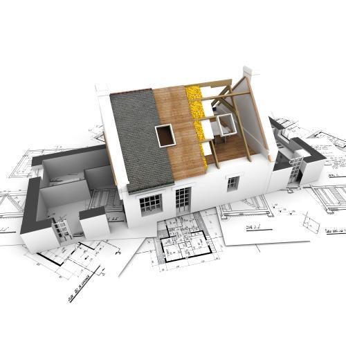Budowa domu ze skośnym dachem