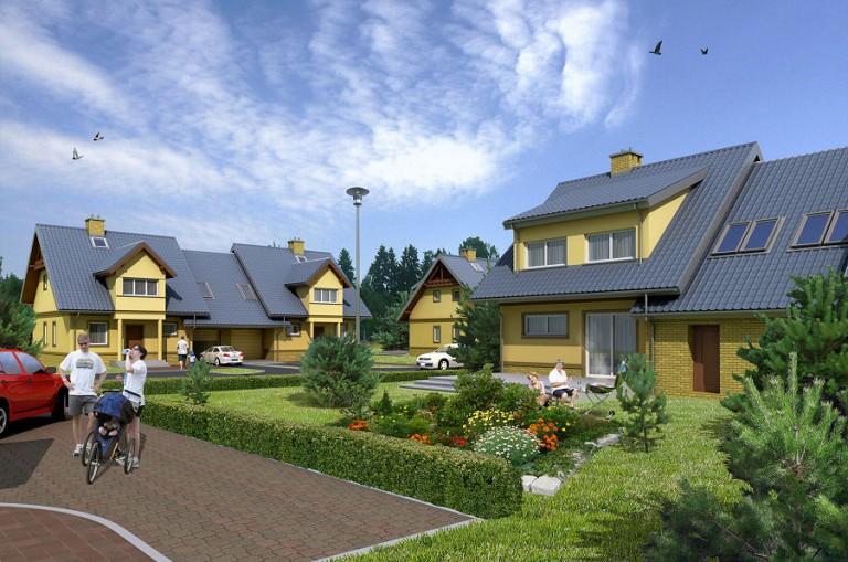 Domy rodzinne w Bojanie (k. Gdyni)