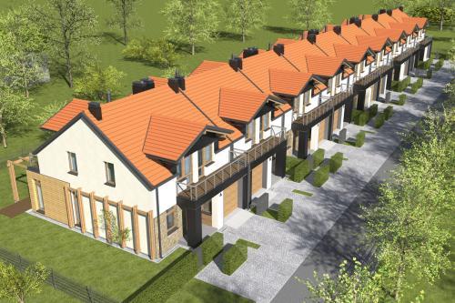 domy szeregowe dworzysko