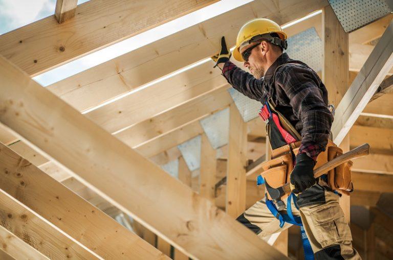 Zabezpieczanie drewnianego domu przed kornikami