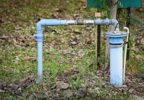 Własna studnia przy domu